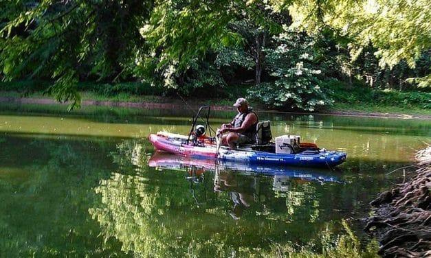 Kayak Fishing | Frogs on the Menu