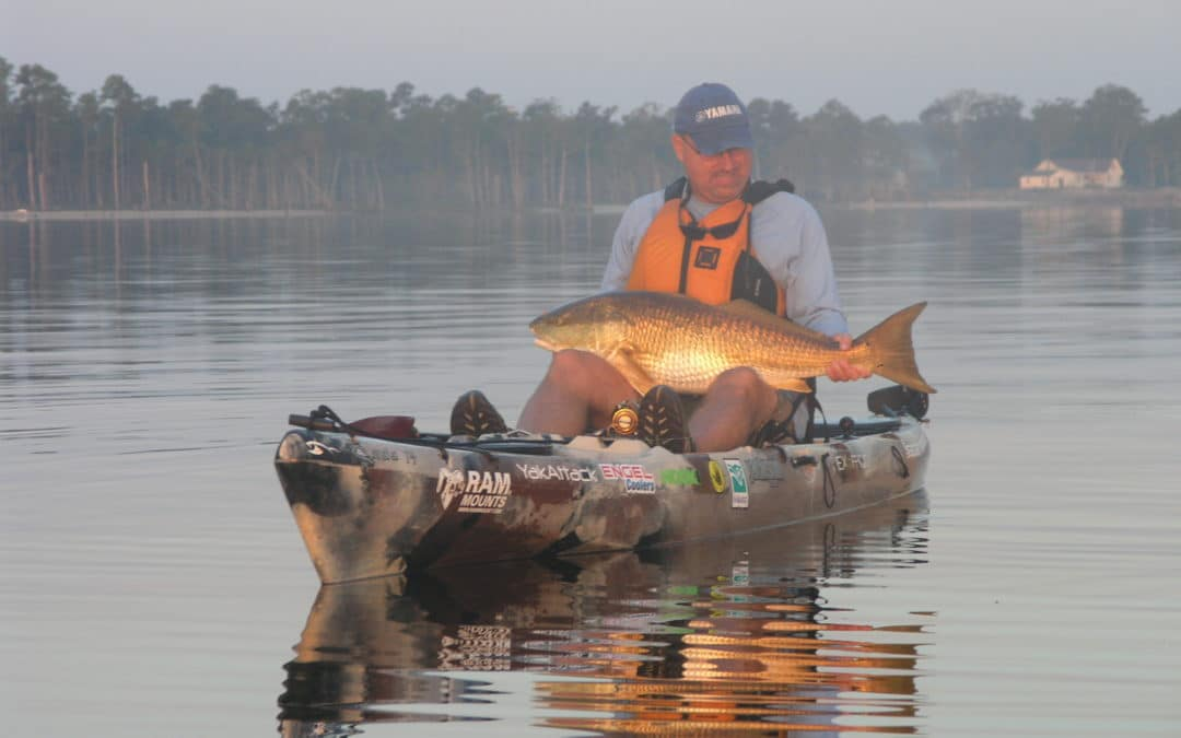 The Kayak Fishing Show with Jim Sammons visits North Carolina