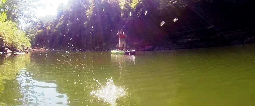 Kayak Fishing | Casting Accuracy