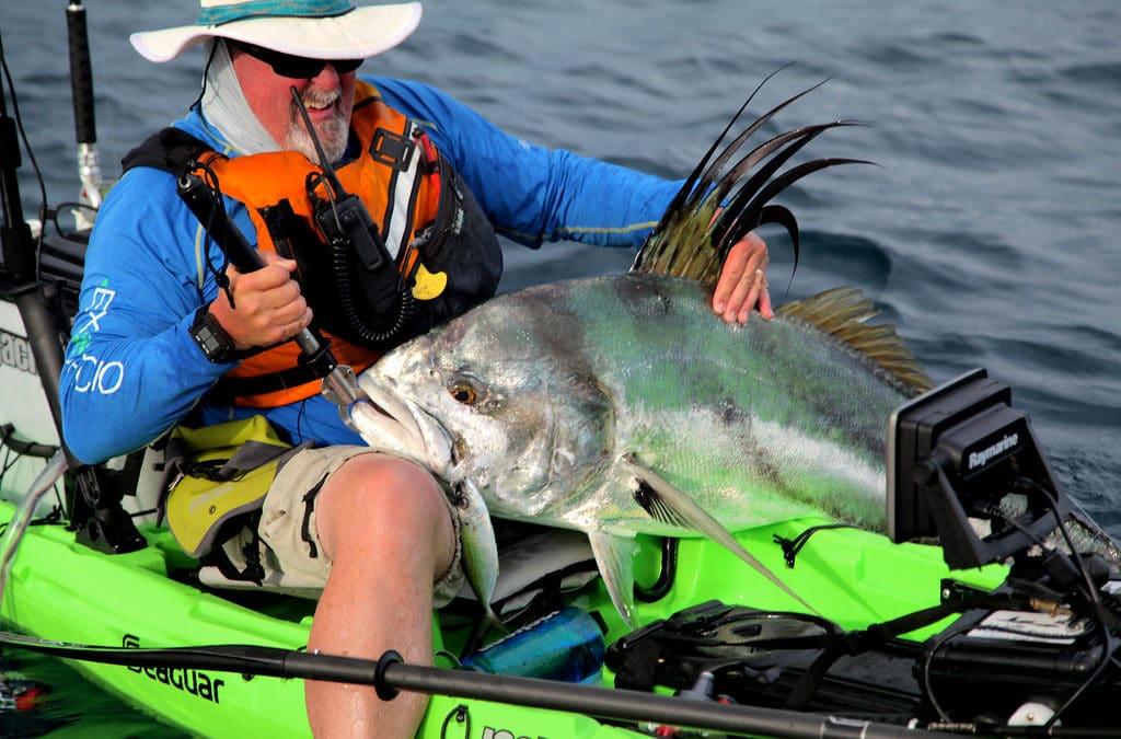 Kayak Fishing Bahia Honda Panama