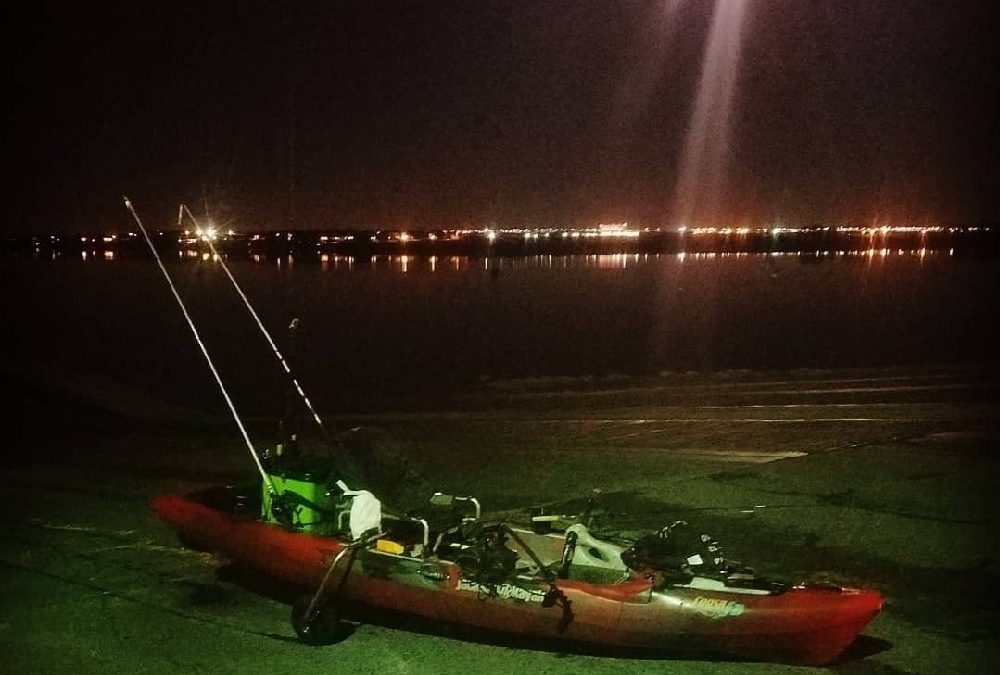Moon Myths?   Kayak Fishing