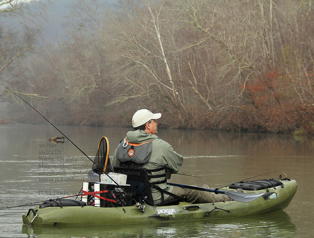 Production model coosas are here for Fishing jackson kayak