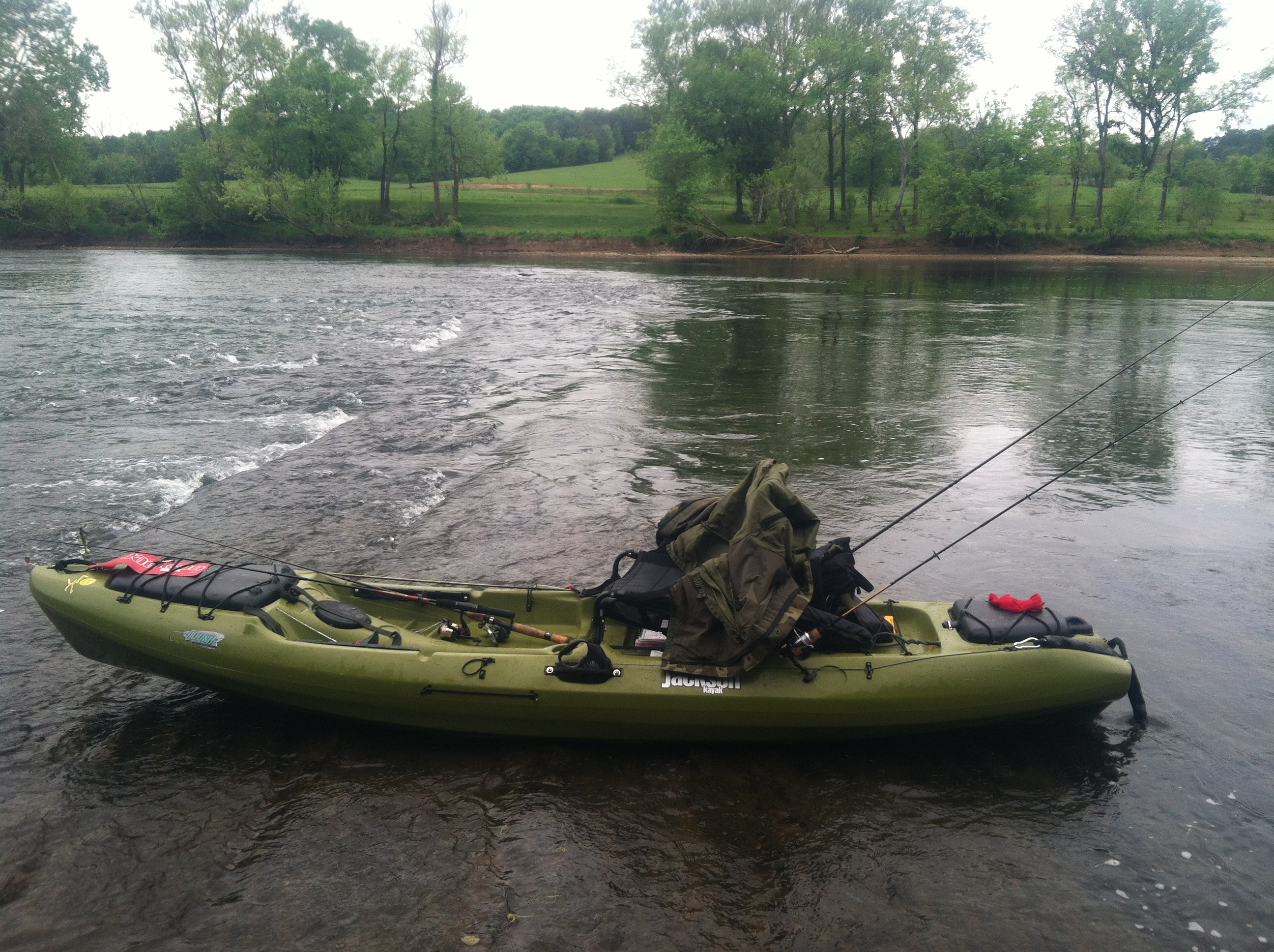 Coosa on the holston river for Fishing jackson kayak