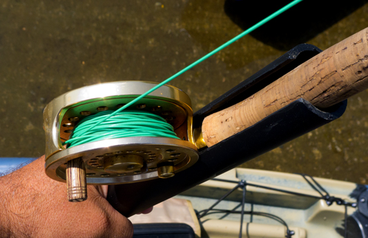 Fly rod holders for cuda and coosa for How to make fishing rod