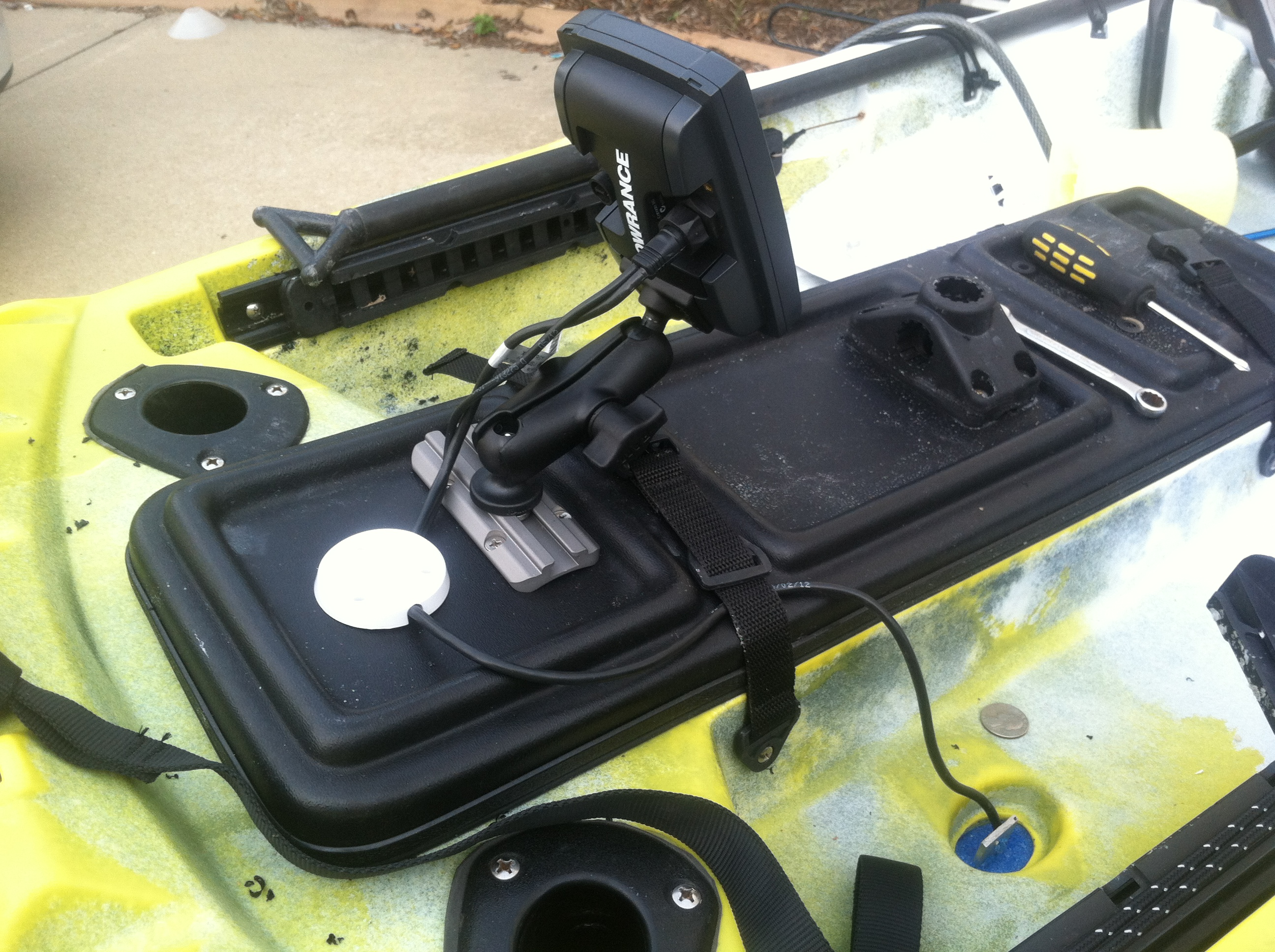 part ii. installing a fish finder |, Fish Finder