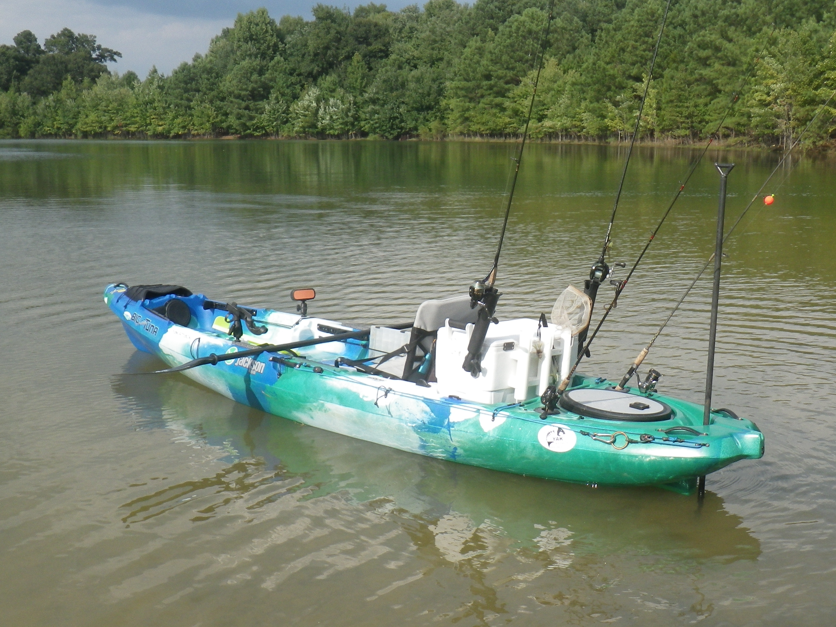 Tricking out the big tuna for Fishing jackson kayak