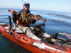 Cruise 12 for Central coast kayak fishing