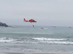 US Coast Guard Rescue Demonstration
