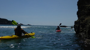 Sea Kayaking near Mendocino