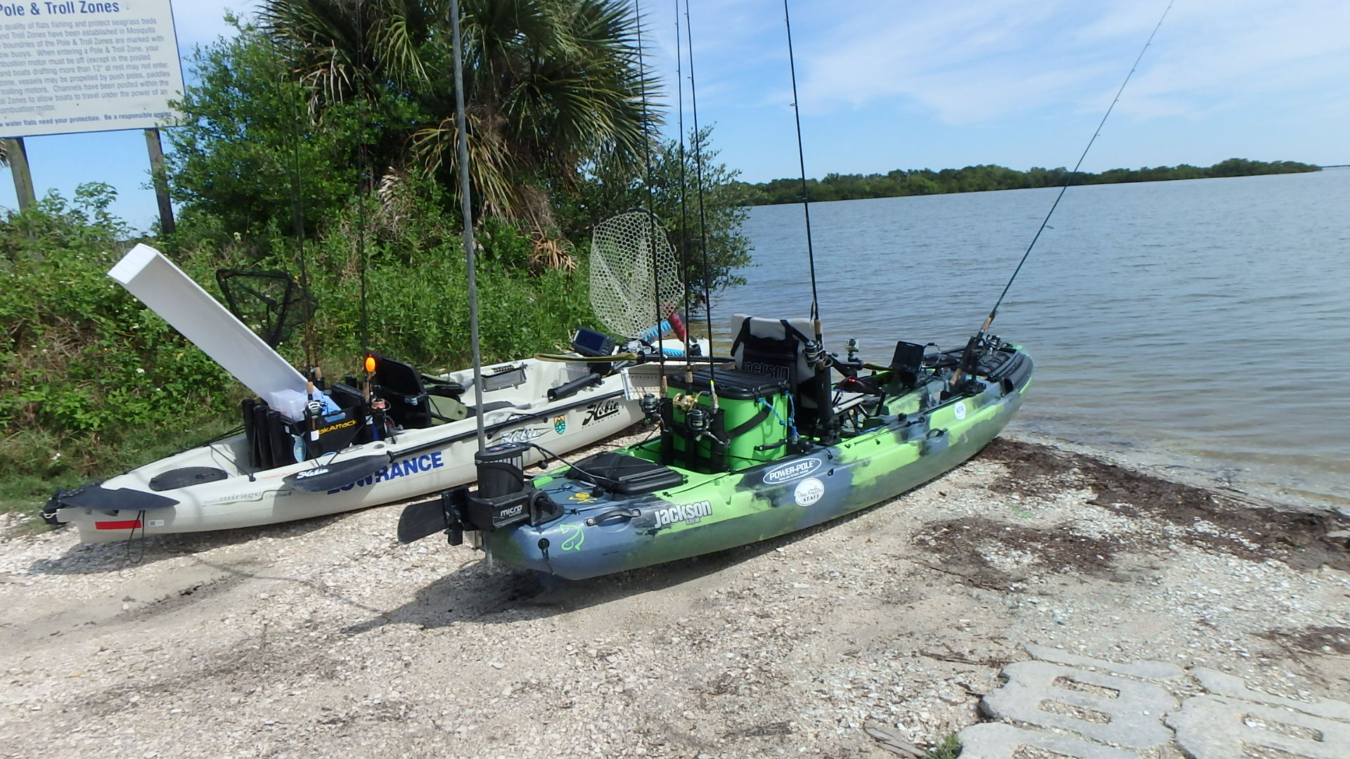 Titusville ifa kayak fishing tour for Fishing from a canoe