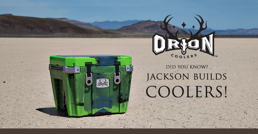 ORION COOLERS:  Made in USA by Jackson Kayak