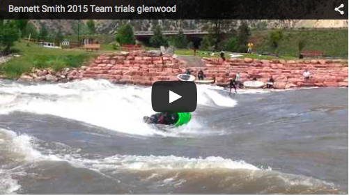 Bennett Smith 2015 Freestyle Kayaking Team Trials