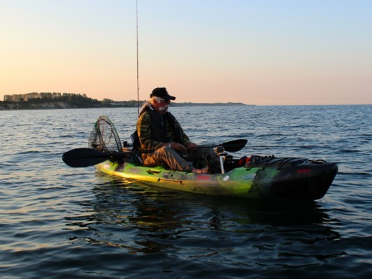 Kayak Fishing has no age limit