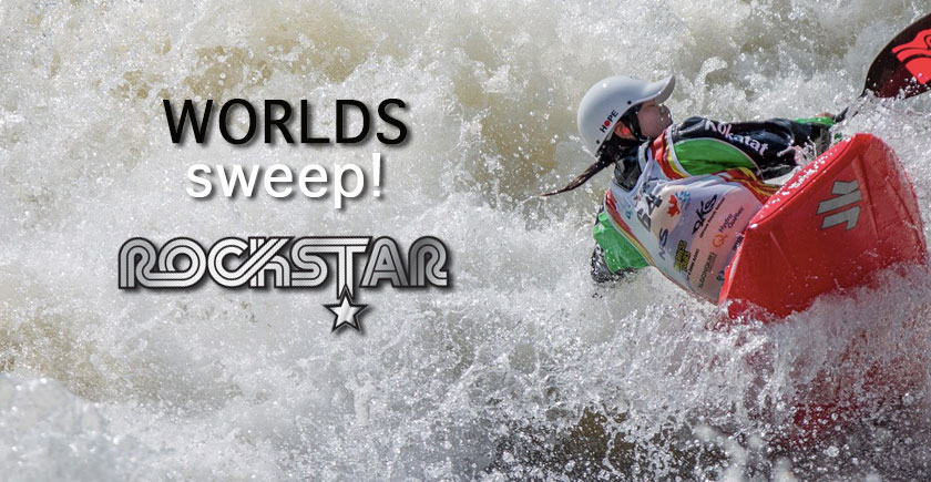 Rockstar Sweeps World Championships!