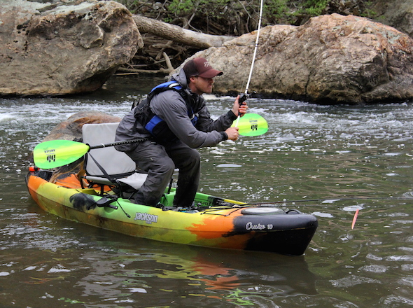 Cruise angler 10 for Fishing jackson kayak