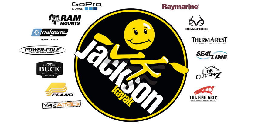 Look at what we include on your Jackson Kayak!