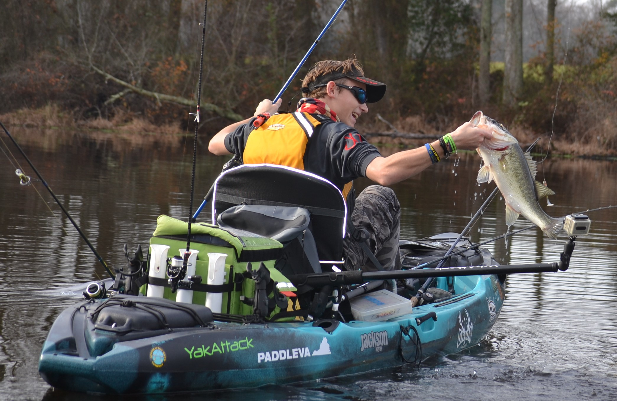 2015 achieving a new goal for Fishing jackson kayak