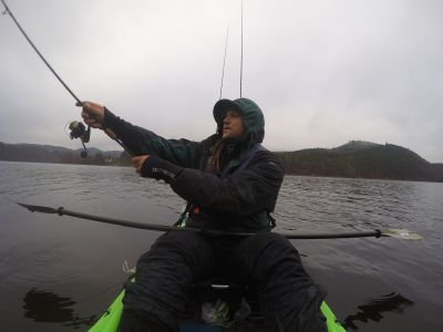 Kayakfishing Deep Water Tactics- Cast, Setup, Retrieve...Repeat
