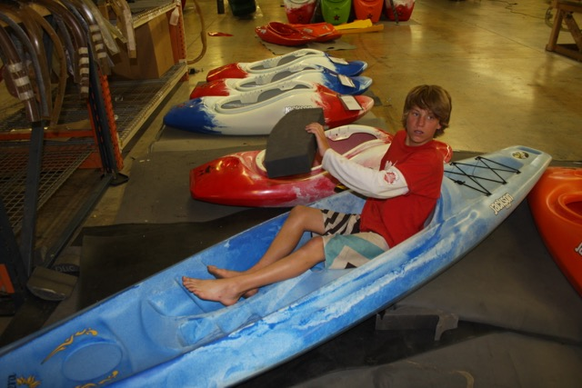 1 dane staying comfortable while making  his C1