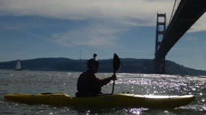 Kayaking Under the Golden Gate Bridge