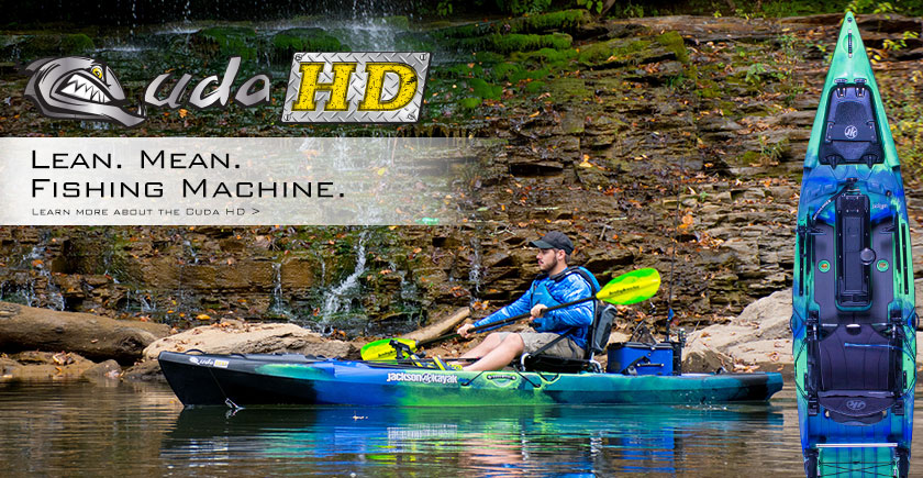 Big Water Hunter. Check Out The Cuda HD.