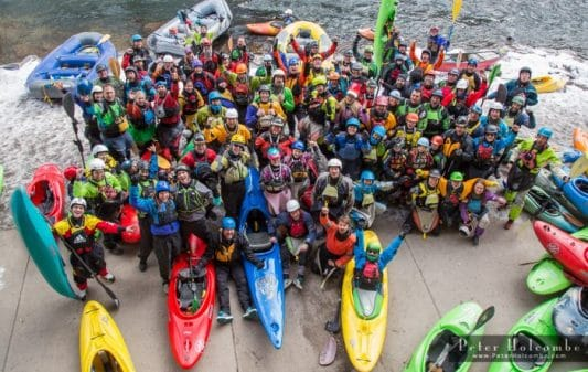 Shoshone NYD 2017- A New Year of Paddling in Colorado