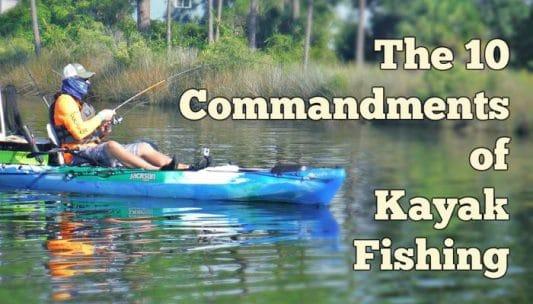 10-commandments-of-kayak-fishing