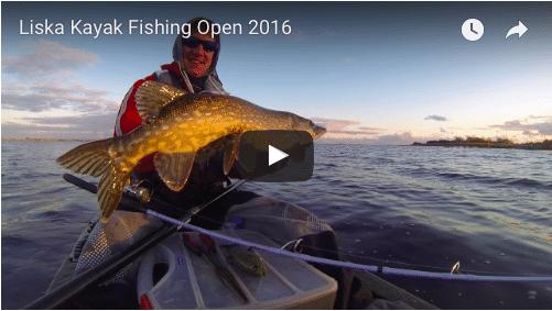 Liska Kayak Fishing Open 2016
