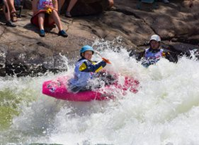 Maddy Kellogg, the face of Kids Kayaking!