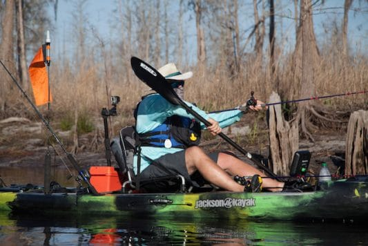 The Kayak Fishing show goes to the swamp