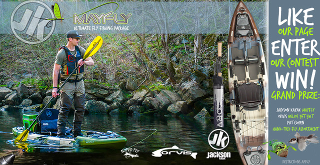 Mayfly, Orvis and Pat Cohen/RUsuperfly.com Contest!