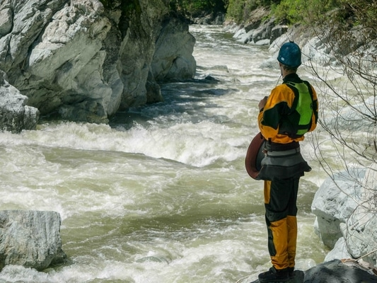 Finding meaning in kayaking