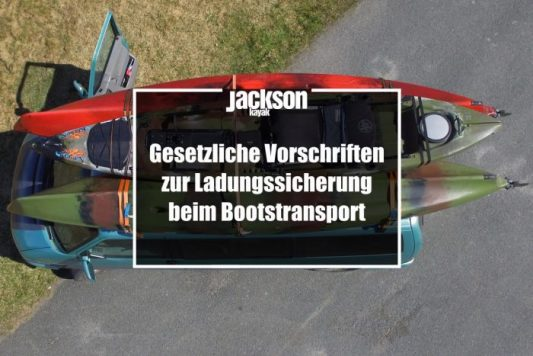 Ladungssicherung beim Bootstransport