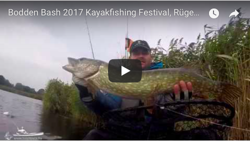 BoddenBash Kayakfishing Festival 2017 Ruegen, Germany