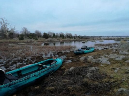 Winter Pike-Fly-Fishing in Sweden