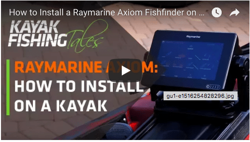 Raymarine Axiom Install on a Jackson Kayak Kraken
