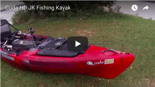 Jerry's New Cuda HD Fishing Kayak