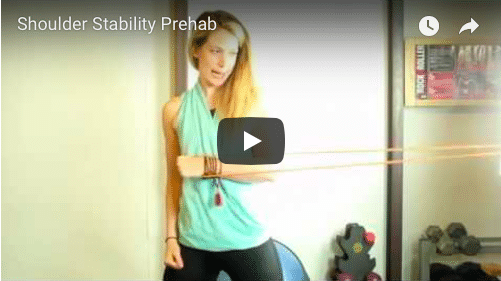 Injury Prevention and Rehab: Shoulder Stability