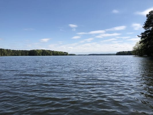 Exploring Caney Lake