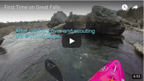 Personal First Descent of Great Falls
