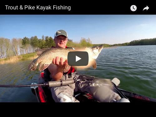 Trout & Pike Kayak Fishing – VIDEO