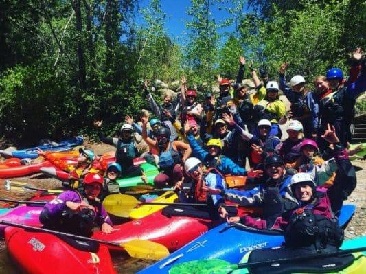CKS Paddlefest Women's Group Paddle