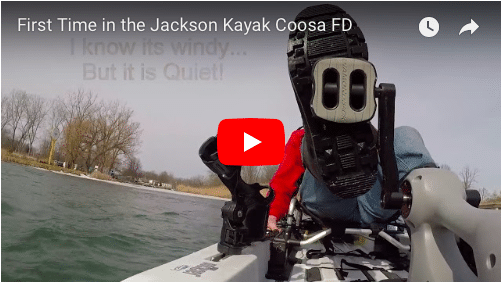 Jackson Kayak Coosa FD first time
