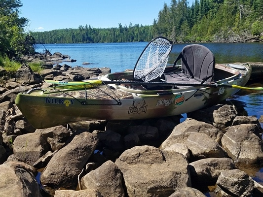 Kilroy Solo Adventure in the Boundary Waters