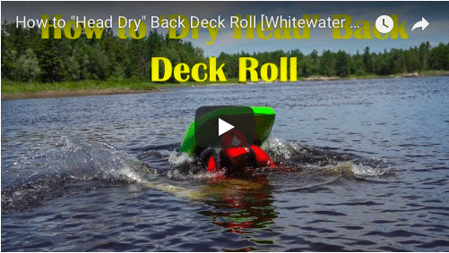"How to ""Dry Head"" Back Deck Roll"