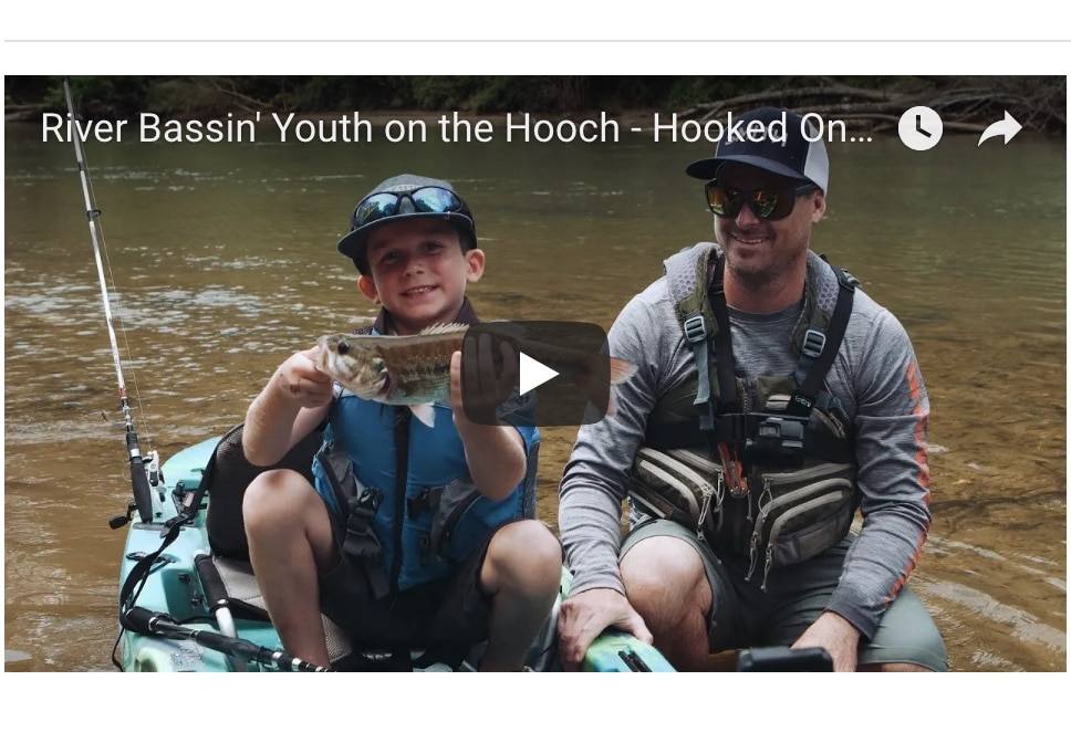 "NEW VIDEO: Hooked on Wild Waters S4, E5, ""River Bassin' Youth on the Hooch"""
