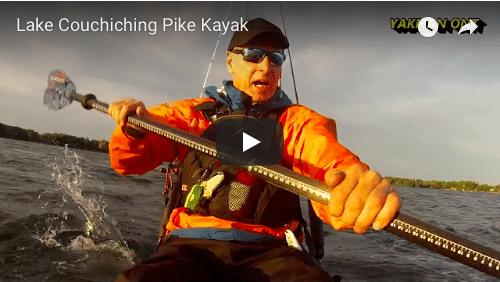 Lake Couchiching Pike and a Paddle ON. Cuda HD, Cuda LT, and a KIlroy