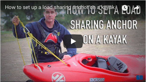 How to set up a load sharing anchor on a kayak