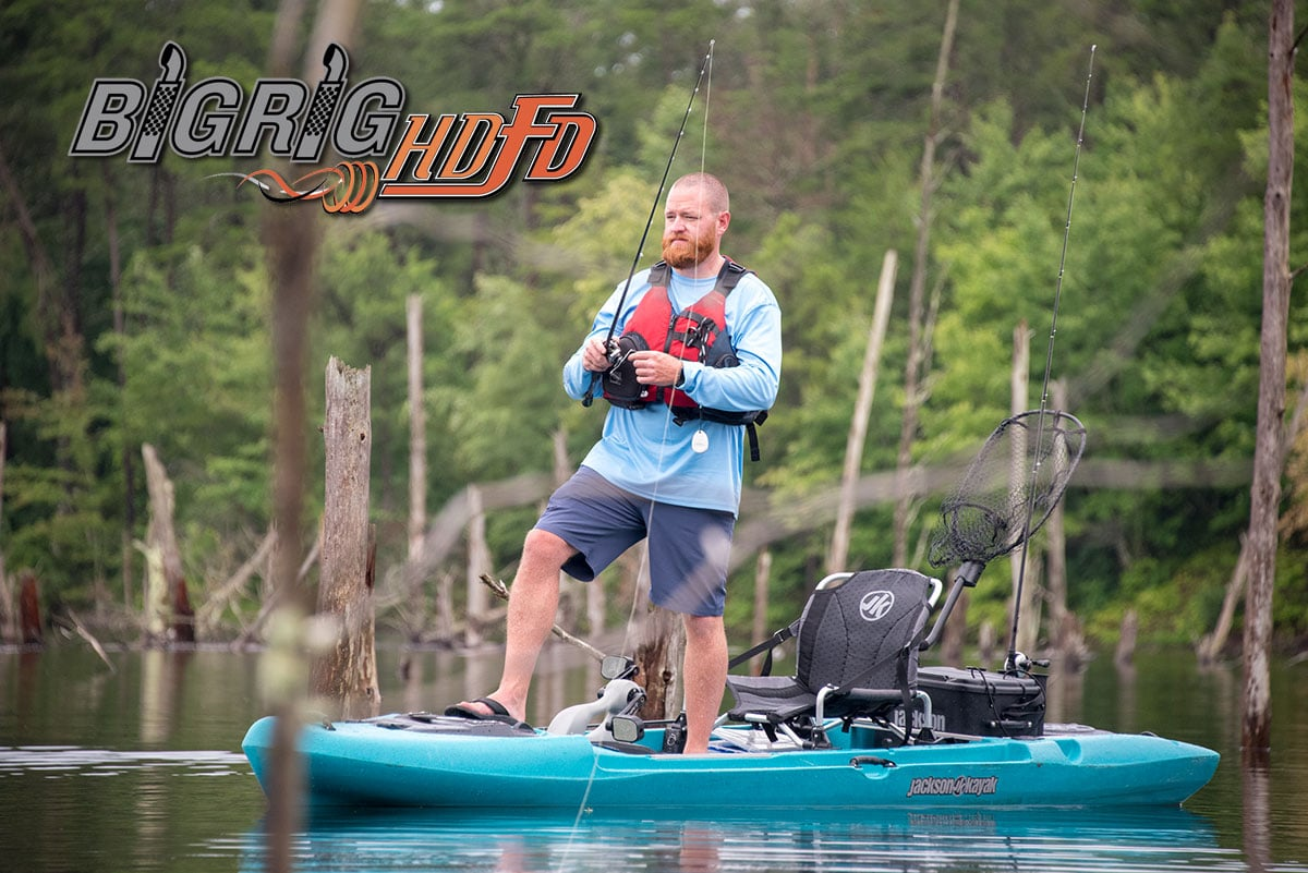 Jackson Kayak Starts Shipping the New Big Rig HD/FD Fishing Kayak