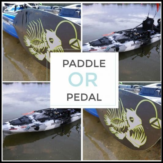 To Paddle or Pedal?